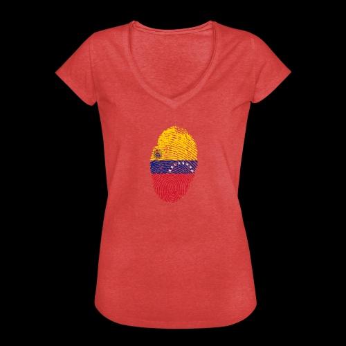 venezuela 653088 1920 - Camiseta vintage mujer