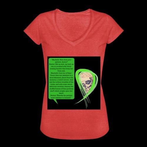 Macbeth Mental health awareness - Women's Vintage T-Shirt