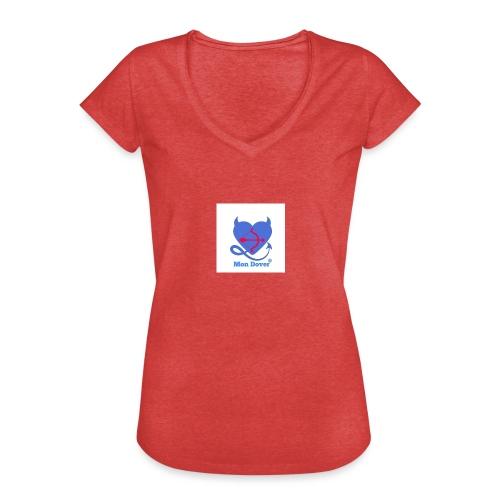 Logo Mon Dover - Maglietta vintage donna