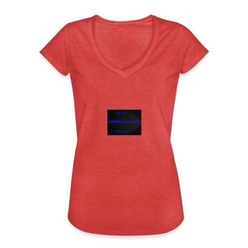 jerkku - Naisten vintage t-paita