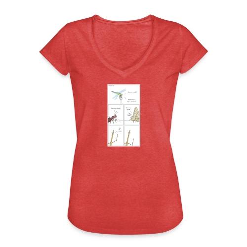 prueba prueba prueba prueba prueba prueba - Camiseta vintage mujer