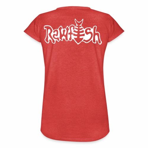 rawfishlogoclean - Vintage-T-shirt dam