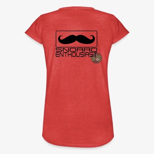 Snorro enthusiastic (black) - Women's Vintage T-Shirt