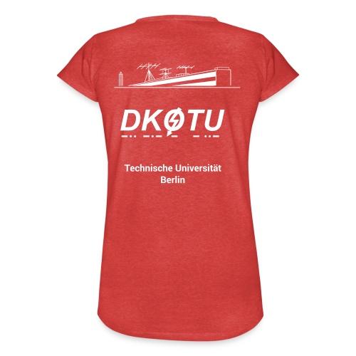 DK0TU Template Test 1 - Frauen Vintage T-Shirt