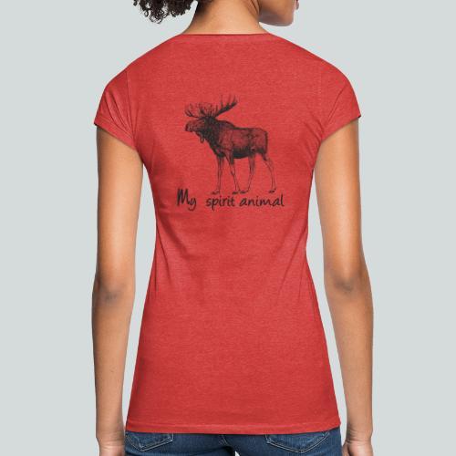 L'élan est mon animal totem - T-shirt vintage Femme