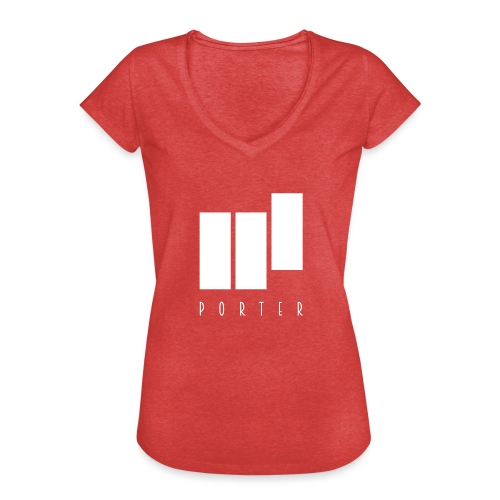 PORTER Sign White - Frauen Vintage T-Shirt
