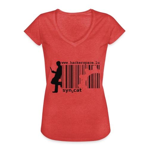 syn2cat hackerspace - Women's Vintage T-Shirt