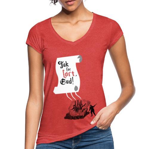 Tak for lort, Gud - Dame vintage T-shirt