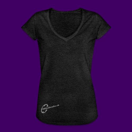 Bikefreaks ch 3 black - Frauen Vintage T-Shirt