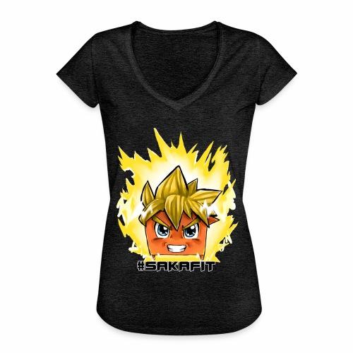#sakaFIT Gelb - Frauen Vintage T-Shirt
