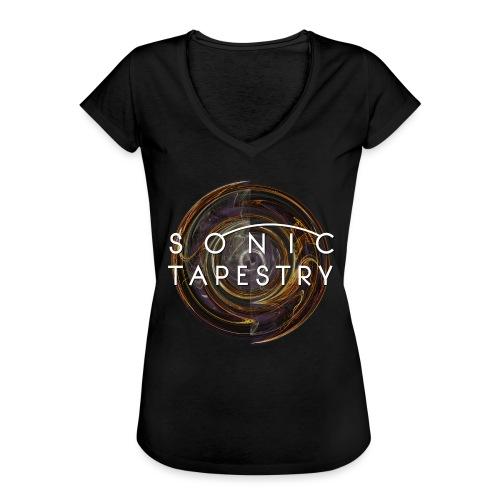 Sonic Tapestry Mystic Void - Women's Vintage T-Shirt
