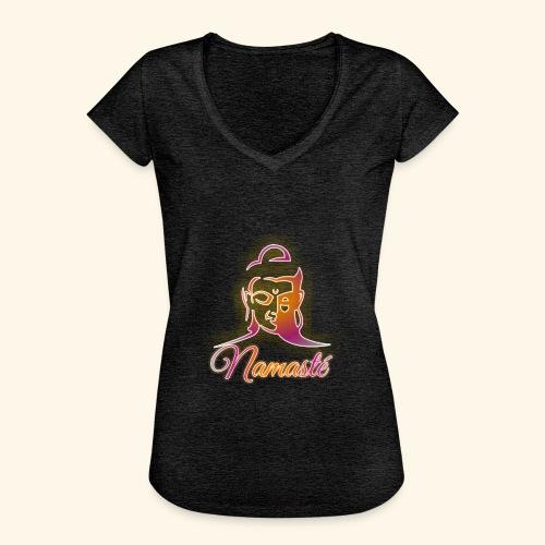 Buddha - Namasté - Frauen Vintage T-Shirt