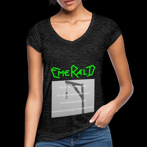Emerald - Frauen Vintage T-Shirt