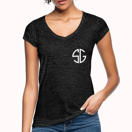 SemGamer log in wit - Vrouwen Vintage T-shirt