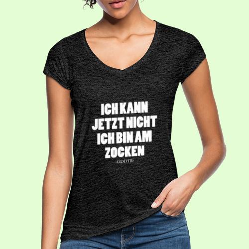 Kann jetzt nicht weiss - Frauen Vintage T-Shirt