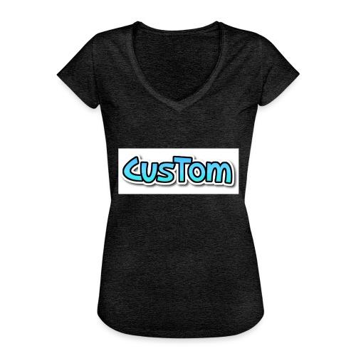 CusTom NORMAL - Vrouwen Vintage T-shirt