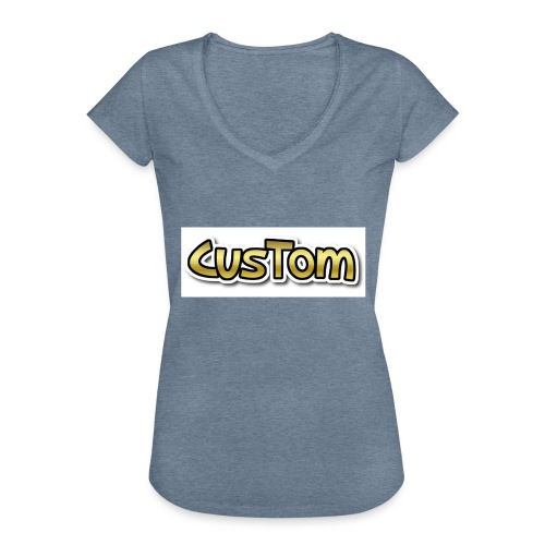 CusTom GOLD LIMETED EDITION - Vrouwen Vintage T-shirt