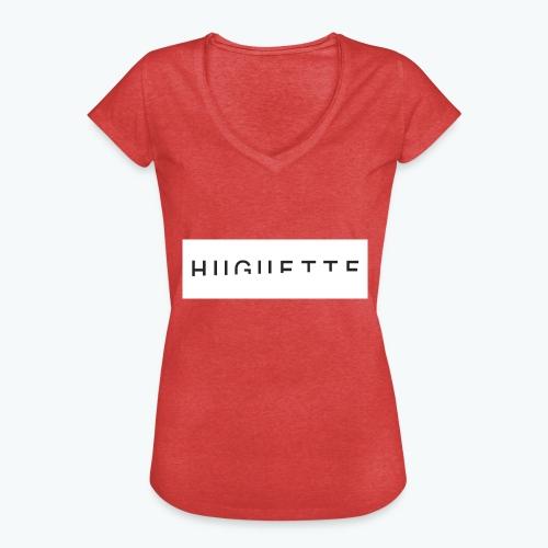 Huguette - T-shirt vintage Femme