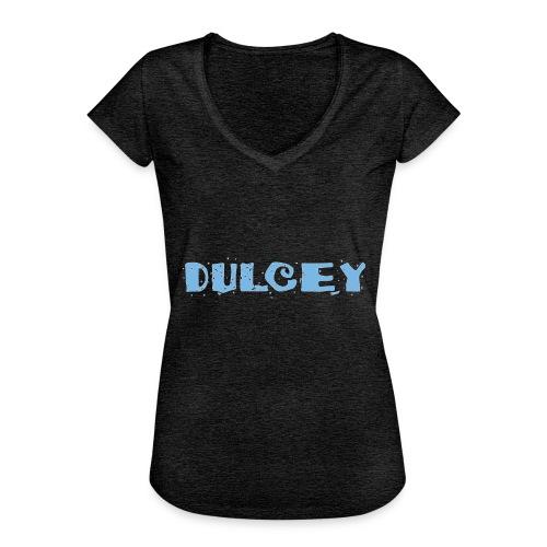 dulcey logo - Frauen Vintage T-Shirt