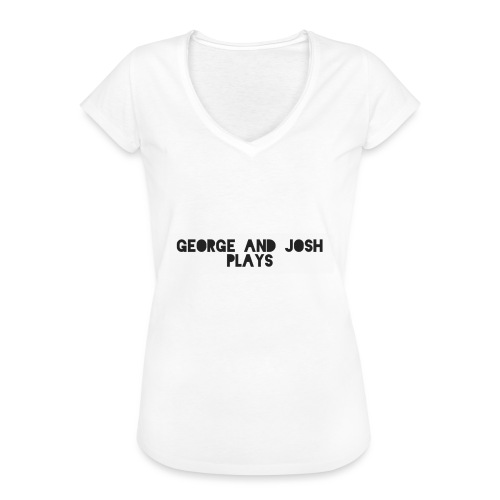 George-and-Josh-Plays-Merch - Women's Vintage T-Shirt