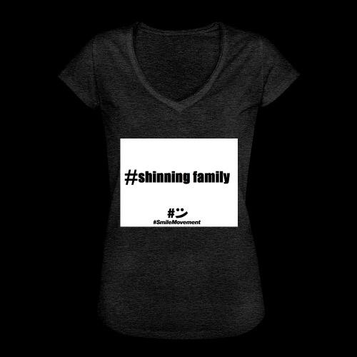 shinning family - T-shirt vintage Femme