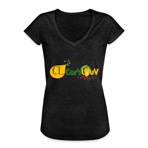 CarVlouV - Camiseta vintage mujer
