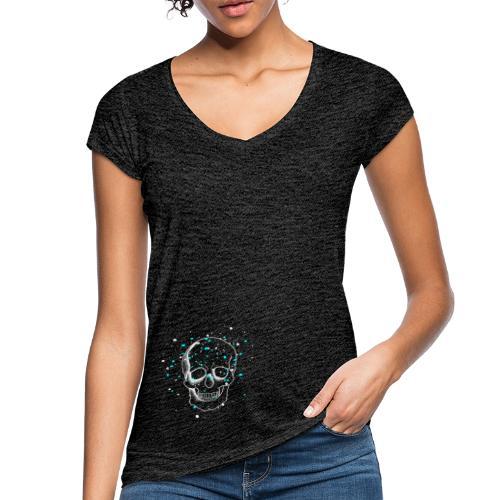 Crâne - T-shirt vintage Femme