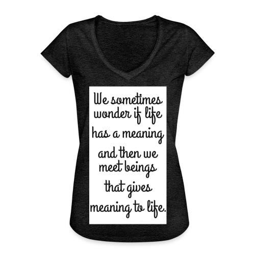 Phrase d'amour en anglais - T-shirt vintage Femme
