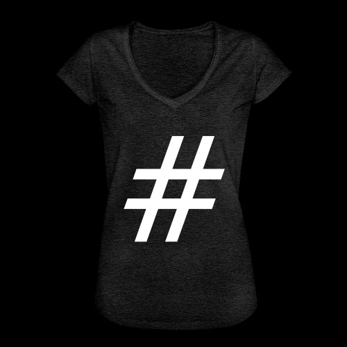 Hashtag Team - Frauen Vintage T-Shirt