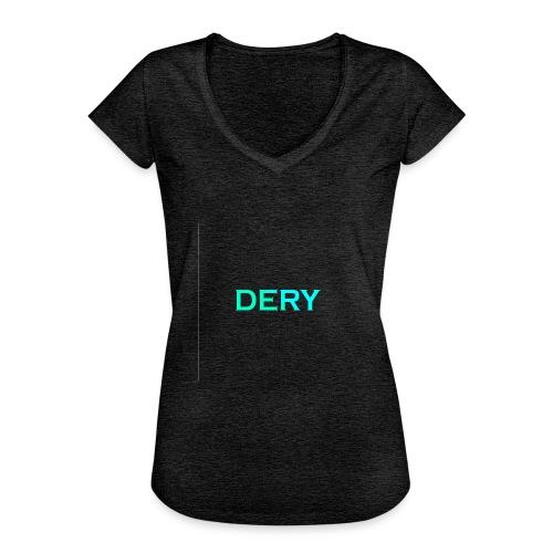 DERY - Frauen Vintage T-Shirt