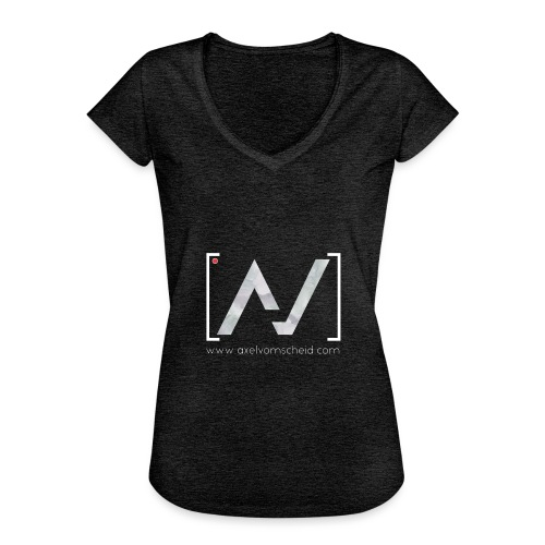 logoalpha blanc - T-shirt vintage Femme