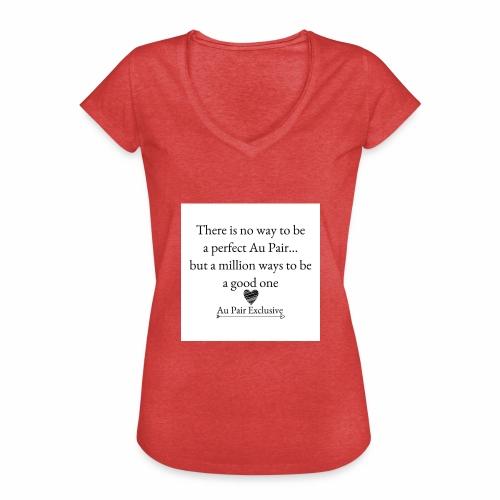 Perfect au pair - Vrouwen Vintage T-shirt