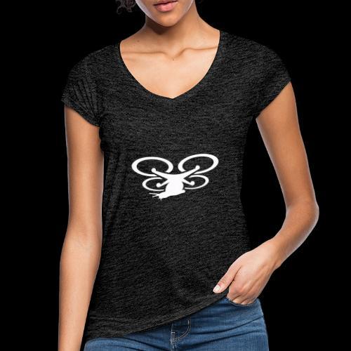 Einseitig bedruckt - Frauen Vintage T-Shirt