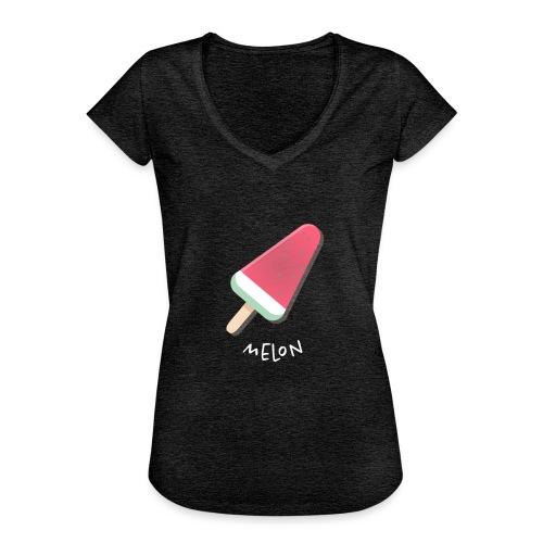 melon vrouwen t-shirt - Vrouwen Vintage T-shirt