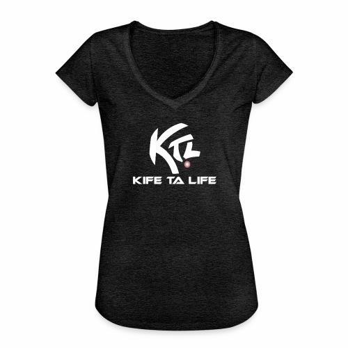 KTL Blanc ORIGINAL - T-shirt vintage Femme