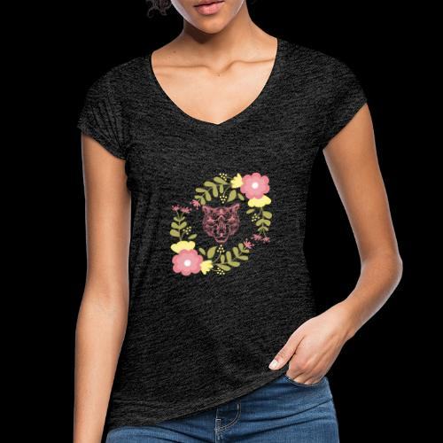 Tee-shirt TIGRE - T-shirt vintage Femme