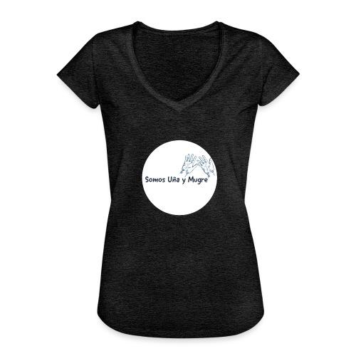Somos uña y mugre - Camiseta vintage mujer