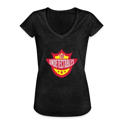 Undetectables voorkant - Vrouwen Vintage T-shirt