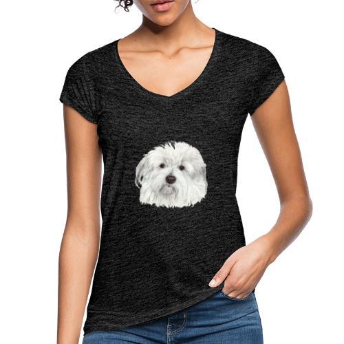 coton-de-tulear - Dame vintage T-shirt