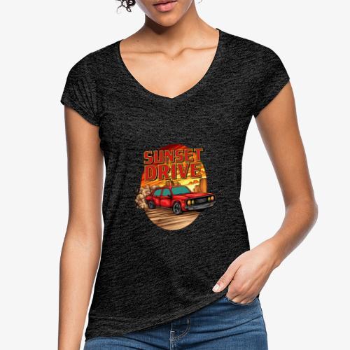 Sunset Drive - T-shirt vintage Femme