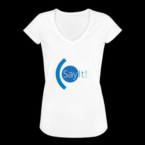 Sayit! - Women's Vintage T-Shirt