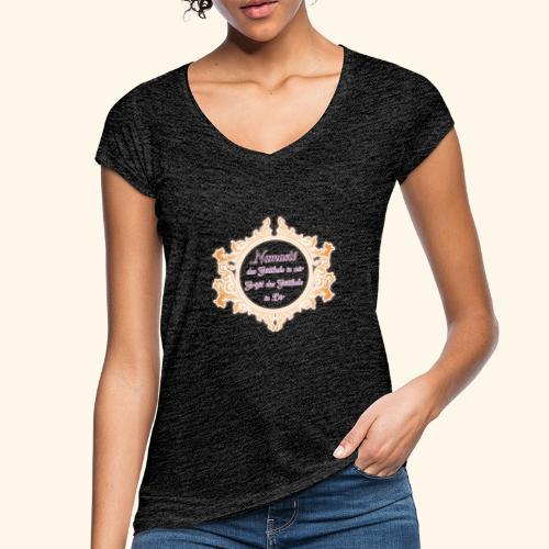 Namasté - Frauen Vintage T-Shirt