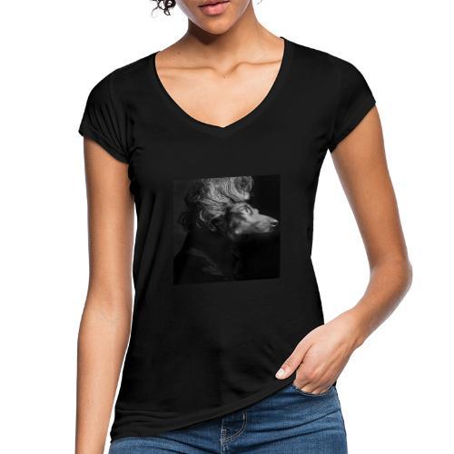 Mozartdackel - Frauen Vintage T-Shirt
