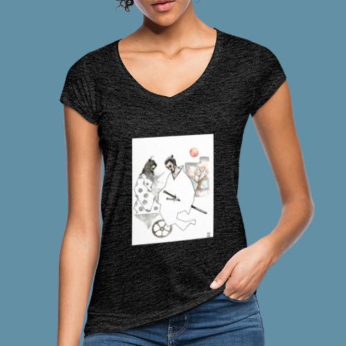 Samurai copia jpg - Maglietta vintage donna