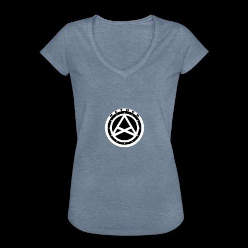Nether Crew Black\White T-shirt - Maglietta vintage donna