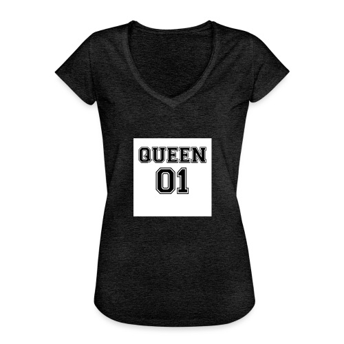 Queen 01 - T-shirt vintage Femme