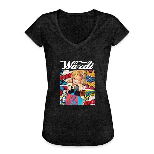 Wardi-Comic-Tee-Reversal - Women's Vintage T-Shirt