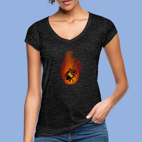 Should I stay or should I go Fire - T-shirt vintage Femme