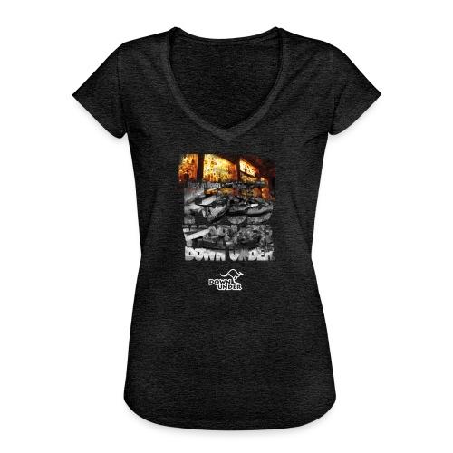 Food Worker Down Under - Frauen Vintage T-Shirt