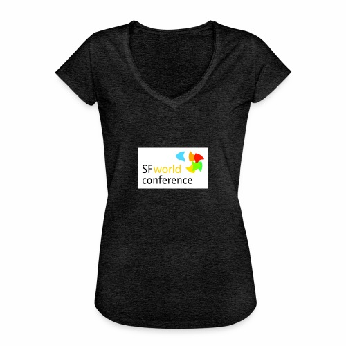 SFworldconference T-Shirts - Frauen Vintage T-Shirt